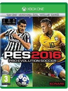 XBOX ONE PES 2016