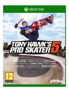 XBOX ONE TONY HAWK WORLD 2015