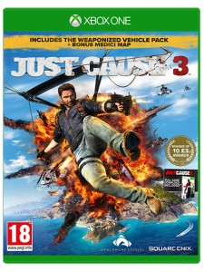 XBOX ONE JUST CAUSE 3:MEDICI MAP LIMITED EDT.