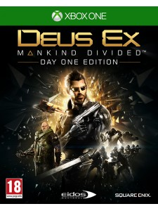 XBOX ONE DEUS EX:MANKIND DIVIDED STEELBOOK EDT.