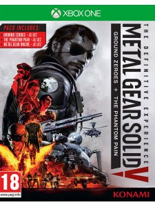 XBOX ONE METAL GEAR SOLID V THE DEFINITIVE