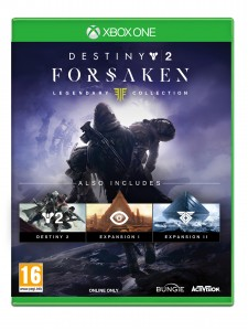 XBOX ONE DESTINY 2 FORSAKEN LEGENDARY EDITION