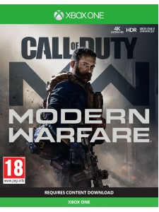 XBOX ONE CALL OF DUTY MODERN WARFARE + FİGÜR