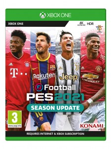 XBOX ONE PES 2021 SEASON UPDATE