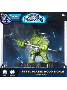 SKYLANDERS IMAGINATOR EXCLUSIVE STEEL-PLATED HOOD  SICKLE