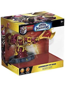SKYLANDERS IMAGINATORS EXCLUSIVE LEGENDARY PIT BOS