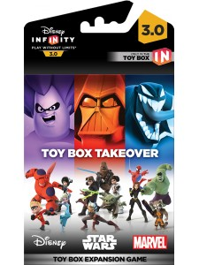 DISNEY INFINIT 3.0 TAKEOVER TOY BOX PACK