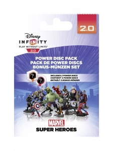 DISNEY INFINITY 2.0 POWER DISCS MARVEL PACK 1