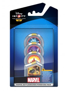 DISNEY INFINITY 3.0 MARVEL BATTLEGROUND POWER DISC