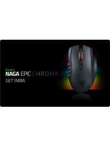 RAZER NAGA EPIC CHROMA KABLOSUZ MOUSE - OUTLET