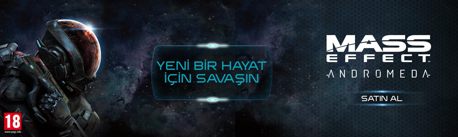 Mass Effect Andromeda - Satışta!