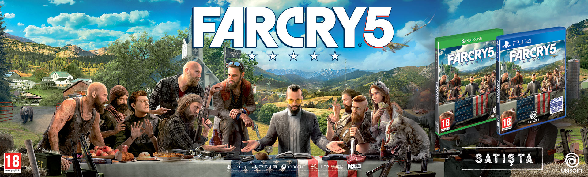 far cry 5 satışta