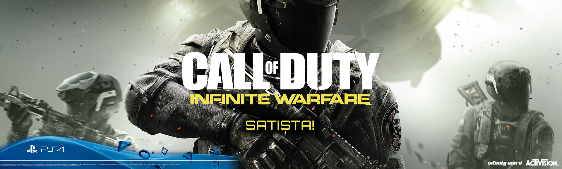 Call Of Duty Infinite Warfare Satışta!