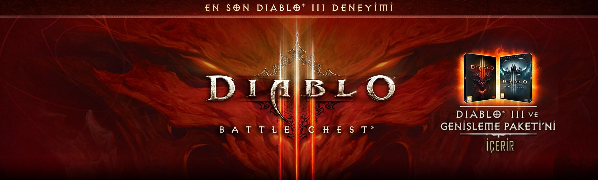 DIABLO 3 BattleChest Şimdi Satışta!
