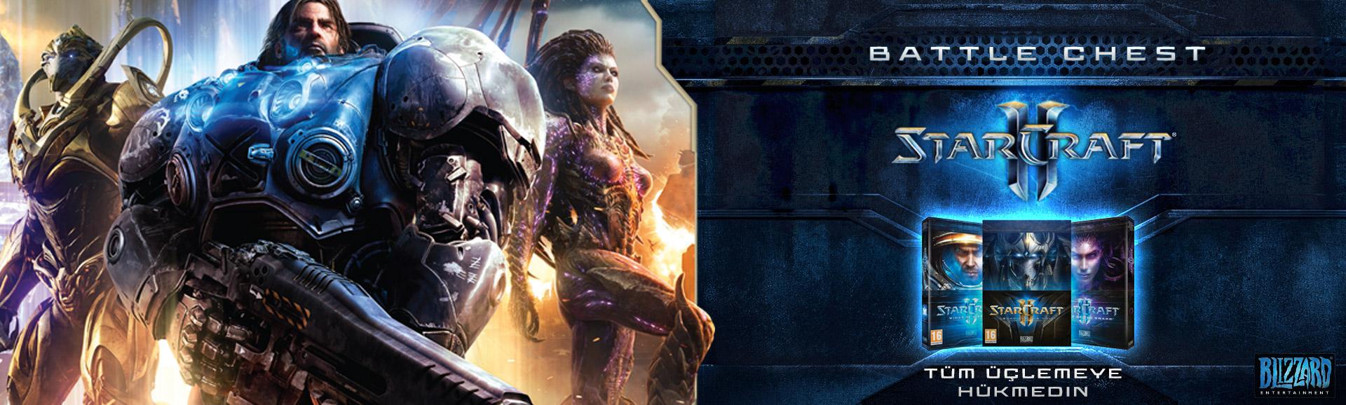 STARCRAFT 2 New BattleChest Şimdi Satışta!