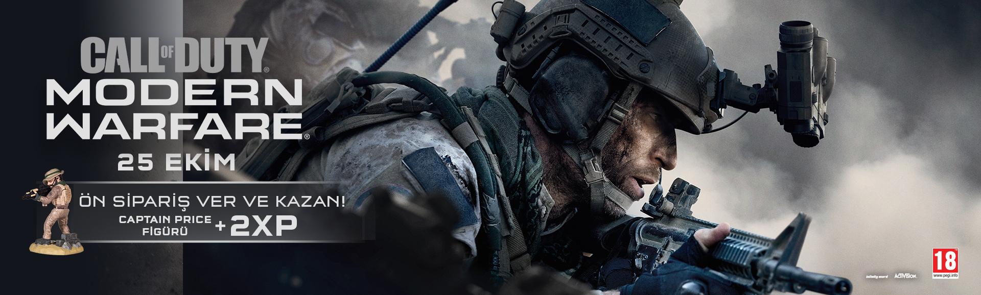 COD Modern Warfare ÖN SİPARİŞTE