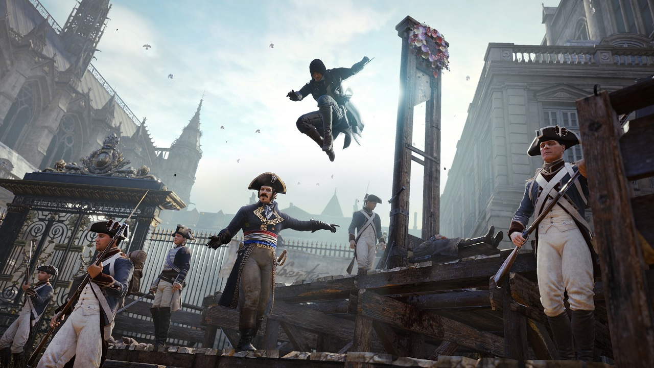 Assassins Creed Unity Patch 4 Is 67 GB, Arrives