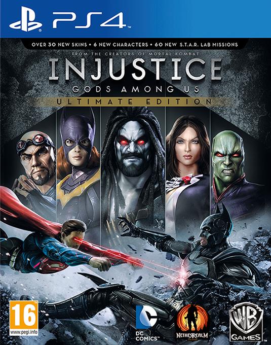 PS4 INJUSTICE GODS AMONG US GOTY
