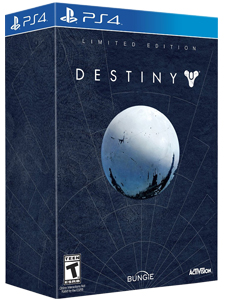 PS4 DESTINY LIMITED EDITION