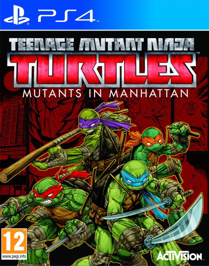 PS4 TEENAGE MUTANT NINJA TURTLES: MUTANTS IN MANHATTAN