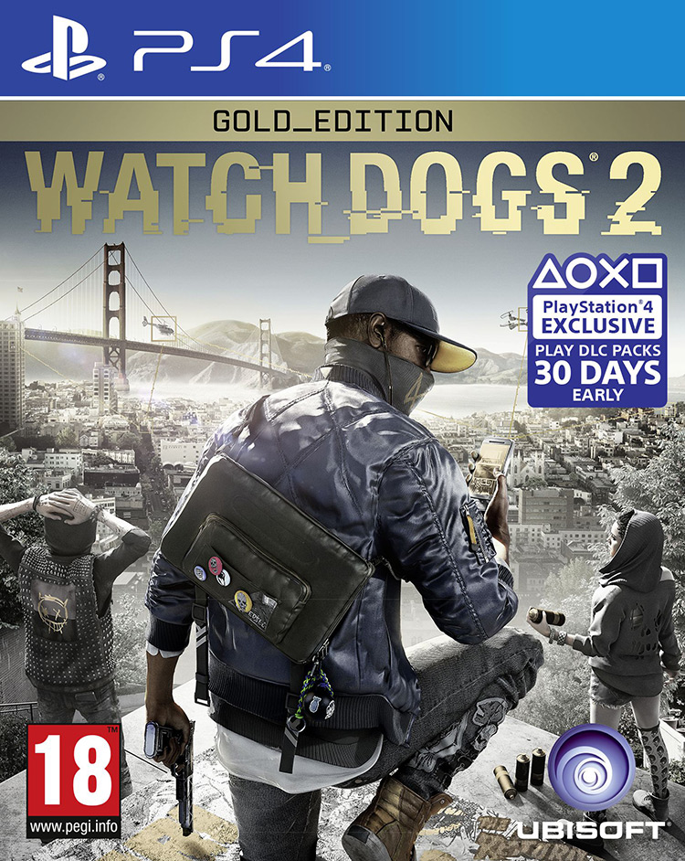 PS4 WATCH DOGS 2 GOLD EDT